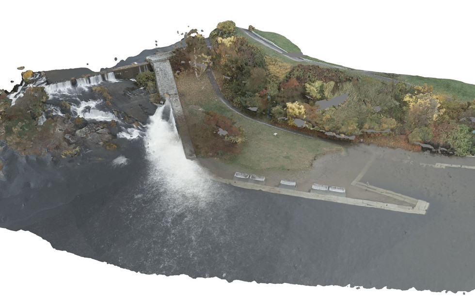 3D Mapping Sea Level Rise in Camden Harbor