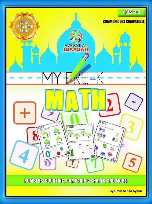 My PreK Math, Ages 3-5