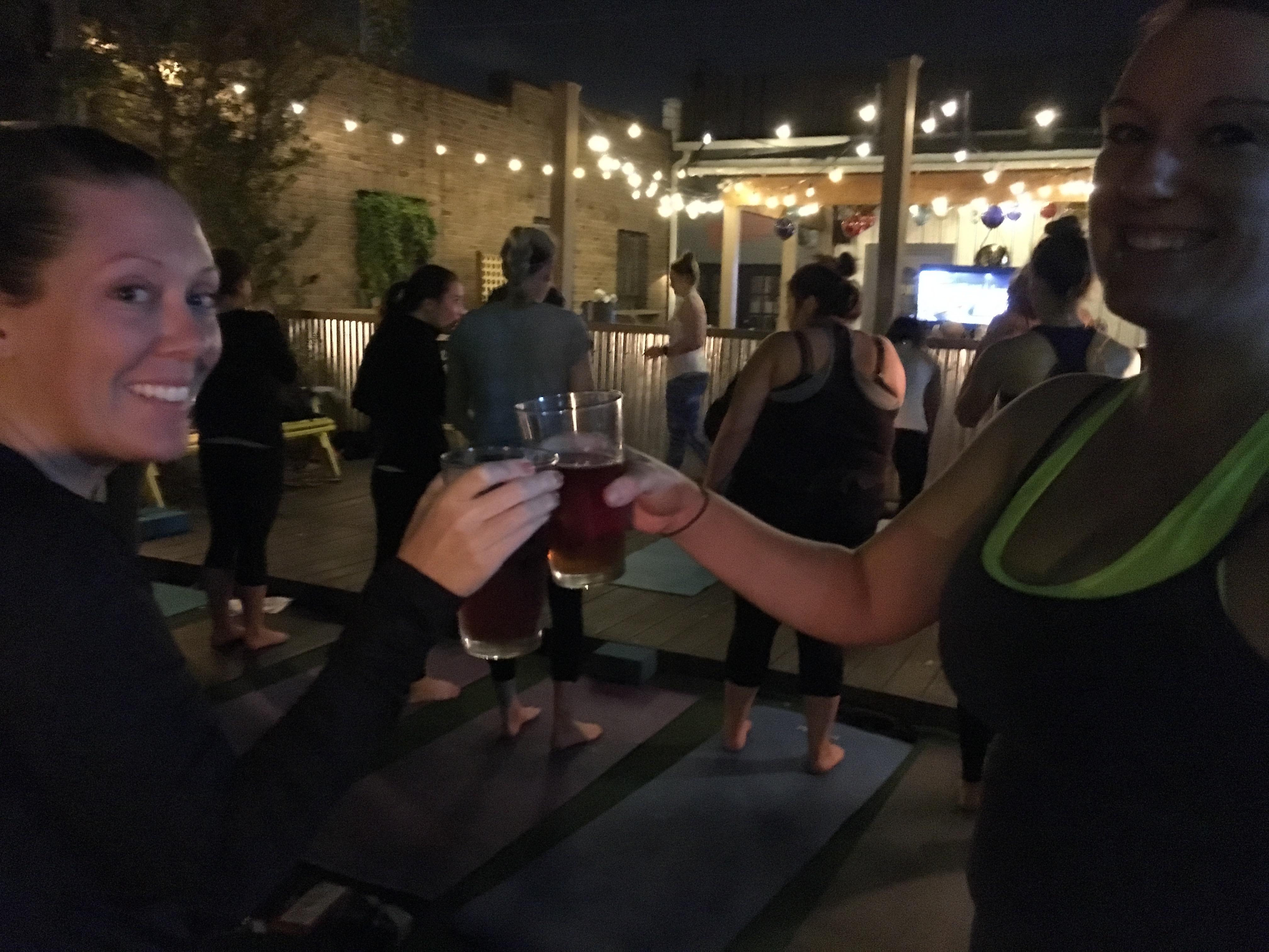 Beer Yoga @ Publico