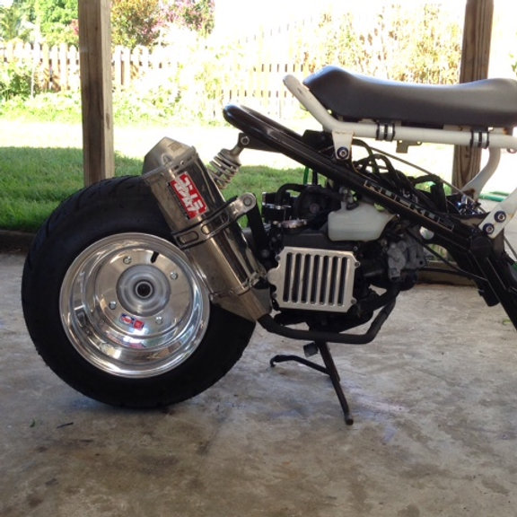 Honda Ruckus Custom Fatty Exhaust