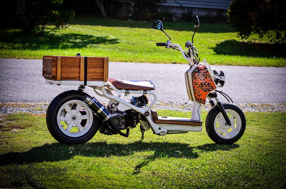 The Truckus - Wooden Honda Ruckus