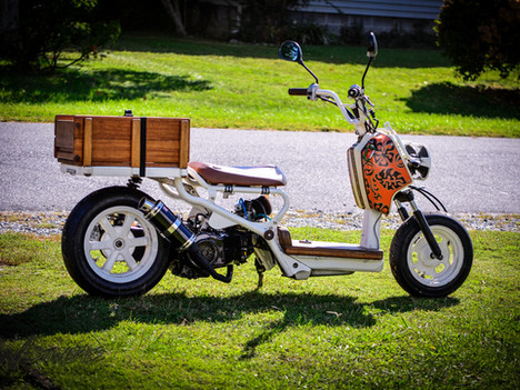 Wooden Honda Ruckus!?!