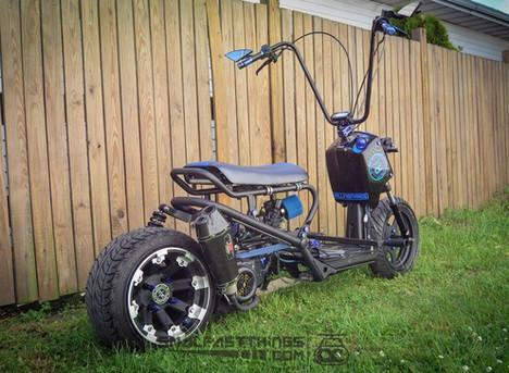 Howto: Honda Ruckus GY6 Swap
