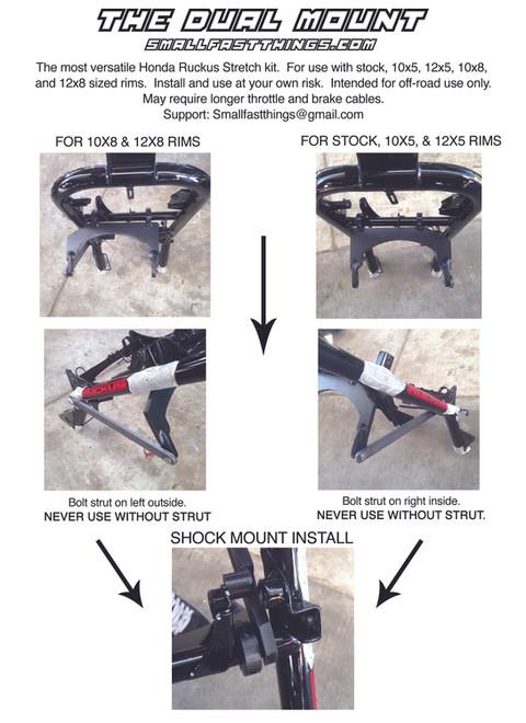 Howto: Honda Ruckus Stretch Kit Install