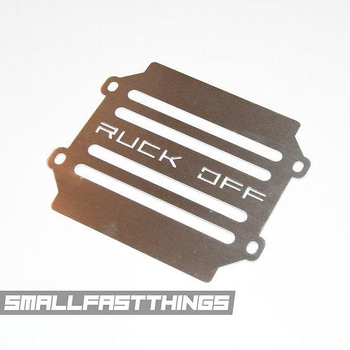 "Honda Ruckus Radiator Cover ""Ruck Off"""