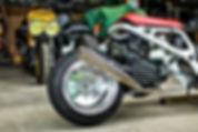 Honda Ruckus Chasis