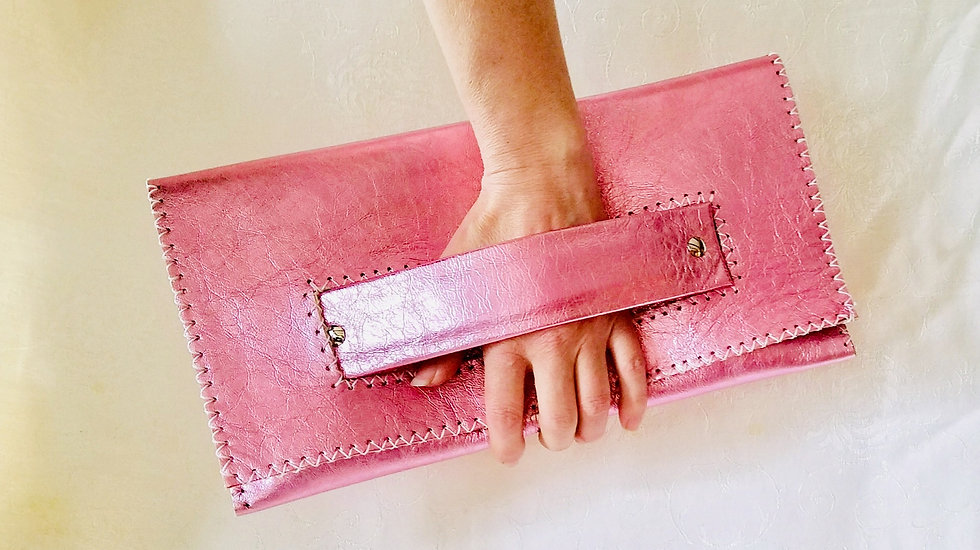 Cotton Candy Clutch