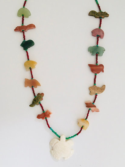 Turtle Totem Necklace