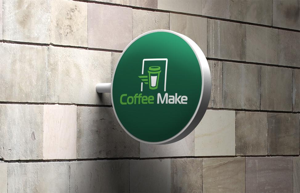 Вывеска кофейни