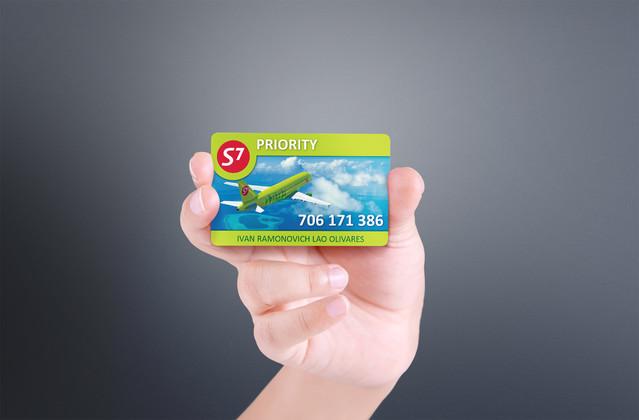 Клиентская карточка для S7
