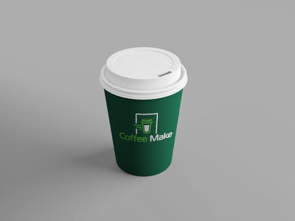 Брендированный стаканчик для кофе