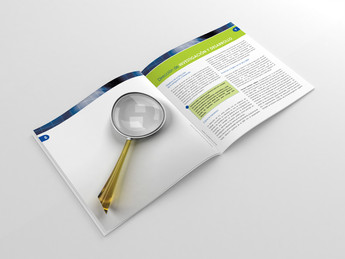 Информационный разворот брошюры