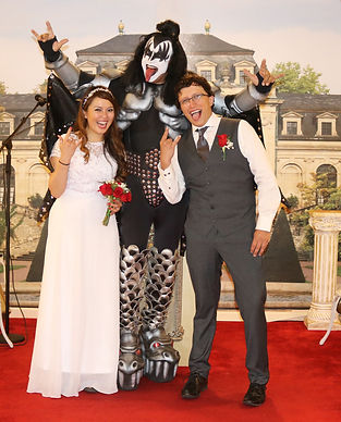 Gene Simmons, Kiss, Las Vegas Gene Simmons Weddings, Kiss Weddng Chapel, Kiss Gene Simmons Las Vegas, Get Married by Gene Simmons, Westgate Resort and Casino Las Vegas, Chapel of Crystal