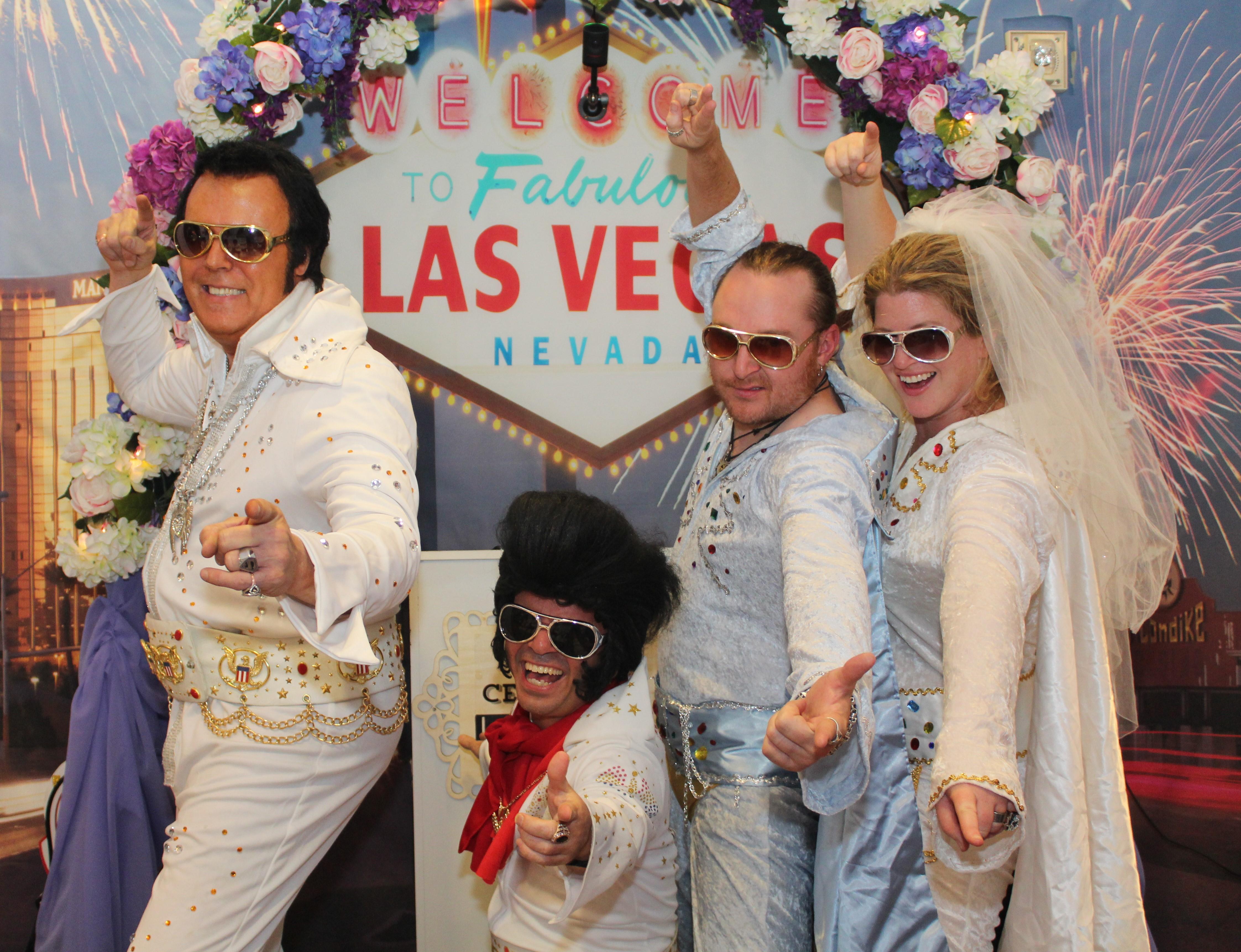 The Little Neon Chapel Las Vegas