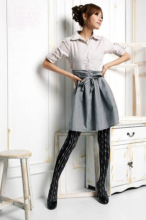 Pointelle Tights