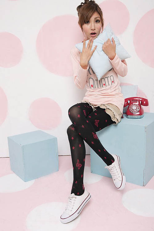 Flocking Butterfly Tights