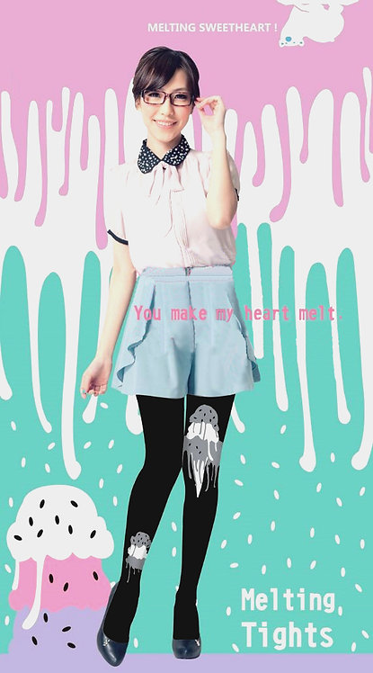 Scream For Ice Cream Melting Tights