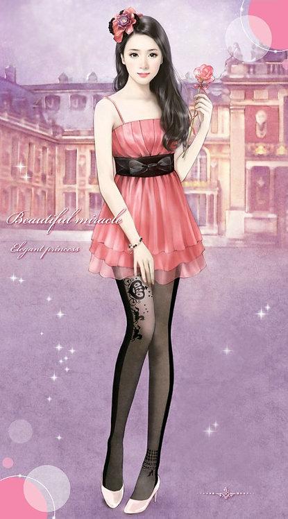 A Princess' Dream Tattoo Stockings