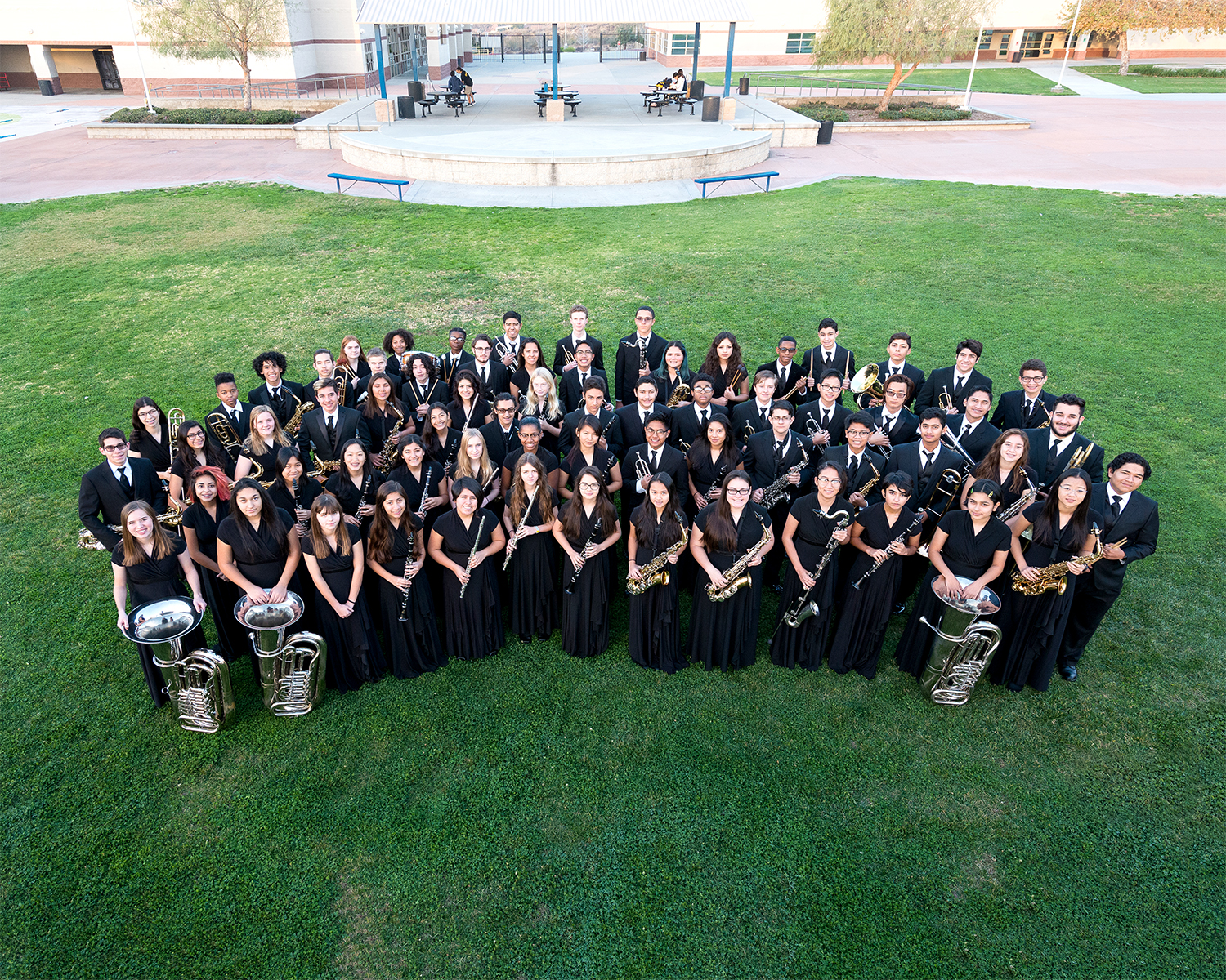 2017-2018 Gold Concert Band