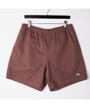 Relaxed Twill Shorts (Grey Grape)
