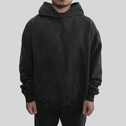 J-OH essential vintage black hoodie