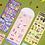 Thumbnail: 「SECOND MANSION」ジューシーベア リムーバー シールステッカー 6種セット VER.2
