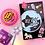 Thumbnail: 「SECOND MANSION」ジューシーベアリムーバーステッカー 8種セット·レトロ