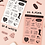Thumbnail: 「PAPERIAN」レタリングステッカー6種セット