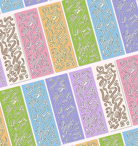 「RAYEON FANCY」コンフェティフラッピー虹の9種セット