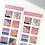 Thumbnail: 「MINGKIT」四角星シール3種セット
