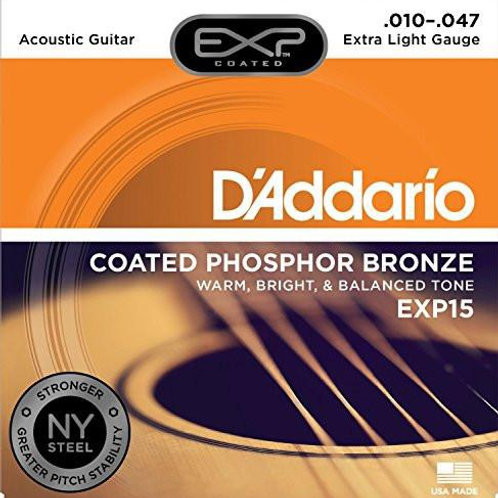 D'Addario Acoustic Strings EXP15