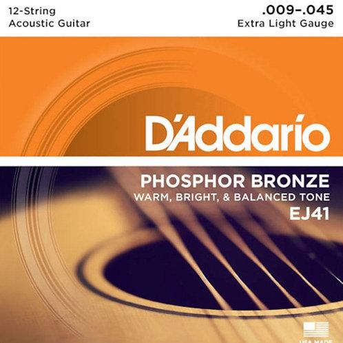 D'Addario Acoustic Strings EJ41