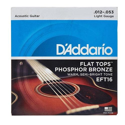 D'Addario Acoustic Strings EF16