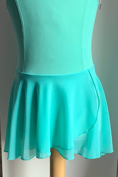 LEOTARD WITH SKIRT ATTACHED