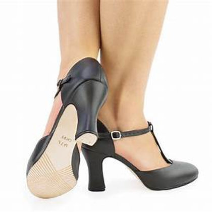"SODANCE CHARACTER T-BAR SHOE 3"" HEEL"