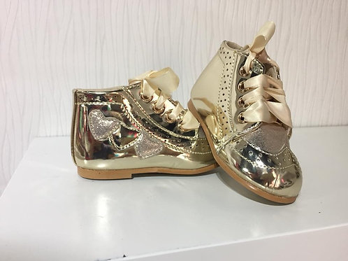 Baby Gold Shoe