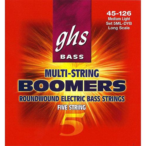 GHS Bass Strings 5ML DYB
