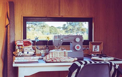 Shepherd Hut Craft Room