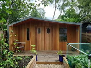 Cedar & Oak Garden Building