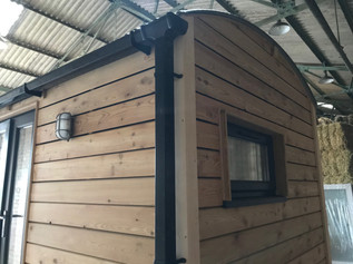 Contemporary design shepherd hut