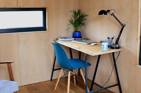 Shepherd  Hut Office