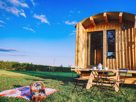 Shepherd Huts & The Rise of Glamping.
