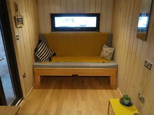 shepherd hut spare bedroom