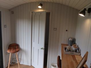 shepherd hut interior style