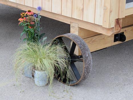 Garden Room Shepherd Hut