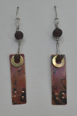 Earrings. $45
