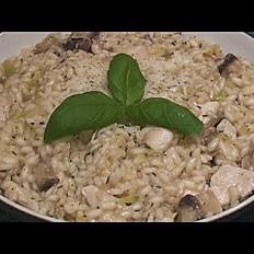 Risotto Chicken Mushroom