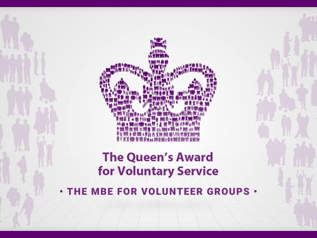 Menphys receives The Queen's Award for Voluntary Service