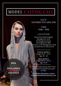 Midlands Fashion Awards 2016 Are Looking For Their Next Top Models