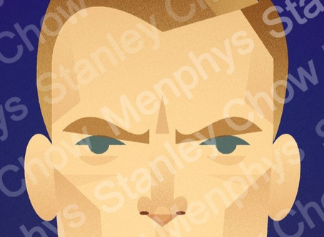 Limited edition Jamie Vardy print by Stanley Chow to raise money for charity